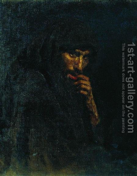 Judas by Ilya Efimovich Efimovich Repin - Reproduction Oil Painting