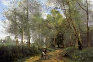 Reproduction oil paintings - Jean-Baptiste-Camille Corot - Ville d'Avray 7