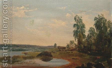 Distance by Ivan Shishkin - Reproduction Oil Painting