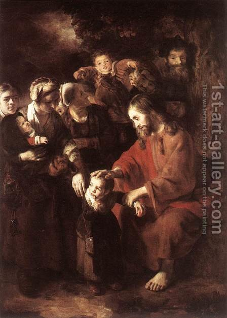 Christ Blessing the Children 1652-53