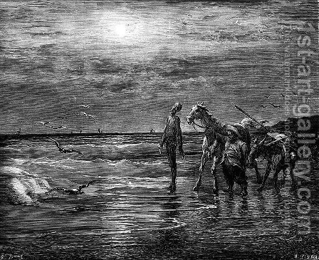 Don Quixote 81 by Gustave Dore - Reproduction Oil Painting