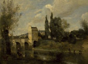 Reproduction oil paintings - Jean-Baptiste-Camille Corot - Unknown 6