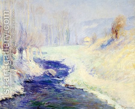 Winter by Guy Rose - Reproduction Oil Painting