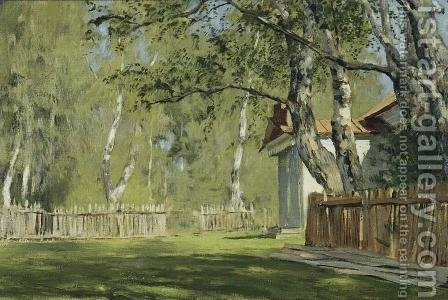 Sunny day by Isaak Ilyich Levitan - Reproduction Oil Painting