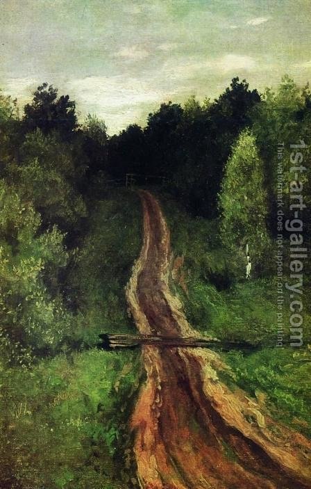 Road 3 by Isaak Ilyich Levitan - Reproduction Oil Painting