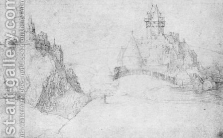 Two Castles by Albrecht Durer - Reproduction Oil Painting