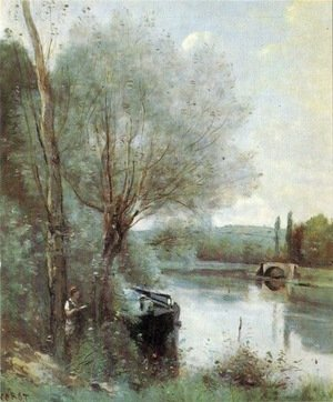 Reproduction oil paintings - Jean-Baptiste-Camille Corot - Unknown 7