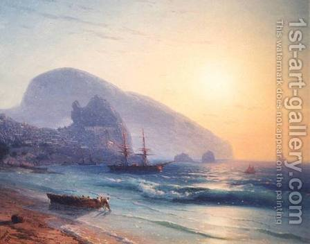Seascape 9 by Ivan Konstantinovich Aivazovsky - Reproduction Oil Painting