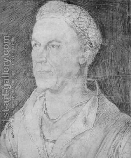 Portrait of Jakob Fugger by Albrecht Durer - Reproduction Oil Painting