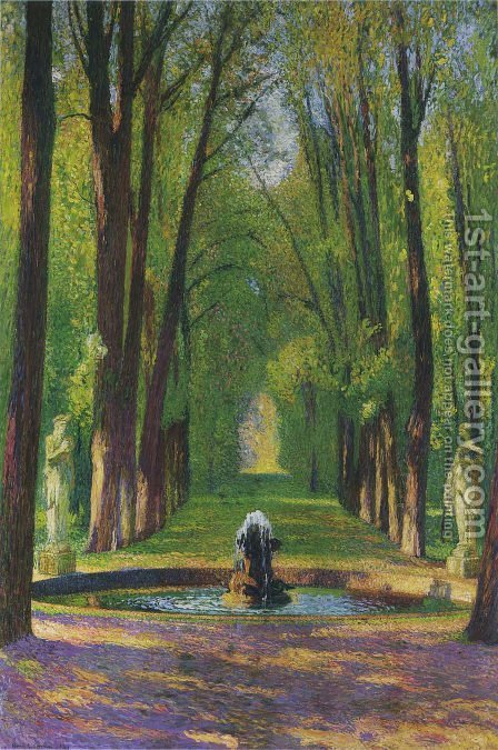 Versailles by Henri Martin - Reproduction Oil Painting