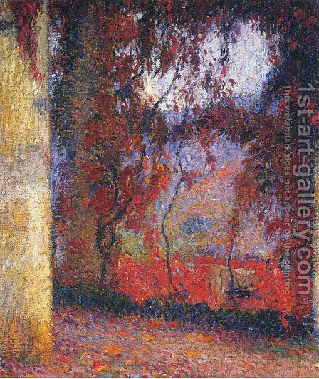 The Terrace 2 by Henri Martin - Reproduction Oil Painting