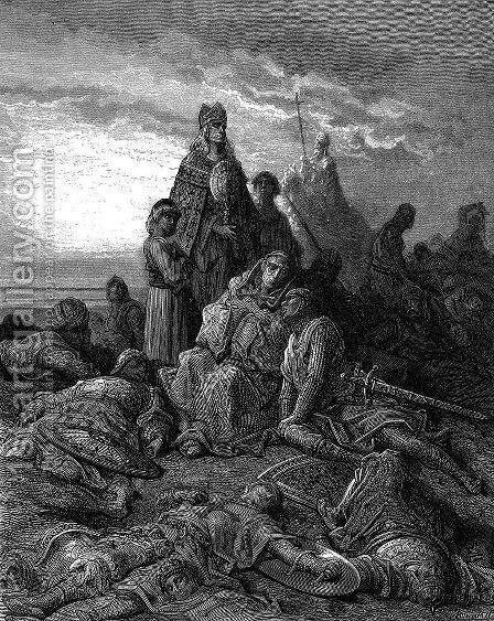 Confession by Gustave Dore - Reproduction Oil Painting
