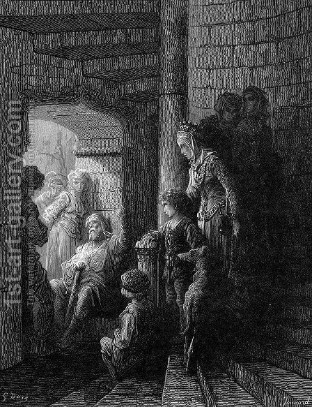 The Veteran by Gustave Dore - Reproduction Oil Painting