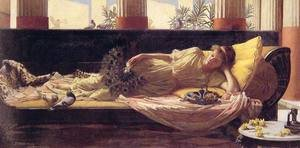 Reproduction oil paintings - Waterhouse - Its sweet doing nothing 2