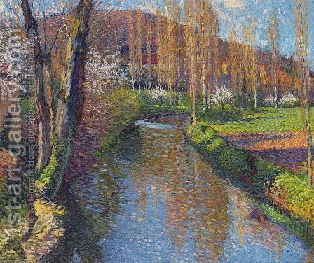 The Vert by Henri Martin - Reproduction Oil Painting