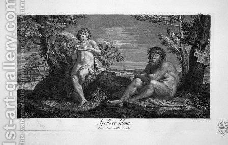 Apollo and Silenus 2 by Giovanni Battista Piranesi - Reproduction Oil Painting
