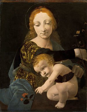 The Virgin and Child (The Madonna of the Rose)