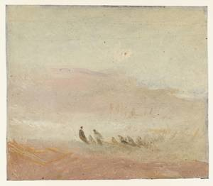 Reproduction oil paintings - Turner - Figures on a Beach