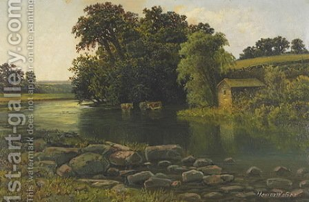 Grand River Valley by Homer Watson - Reproduction Oil Painting