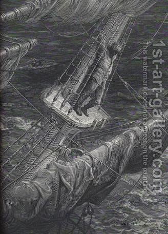Ancient Mariner by Gustave Dore - Reproduction Oil Painting
