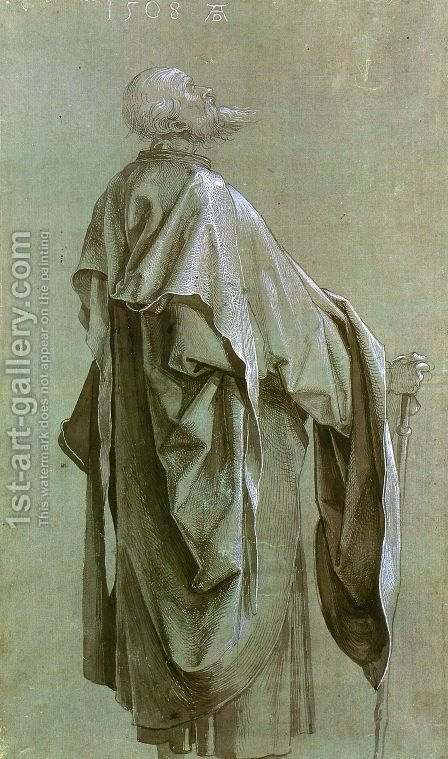 Standing Apostle by Albrecht Durer - Reproduction Oil Painting