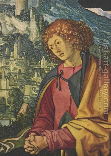 John 2 by Albrecht Durer - Reproduction Oil Painting