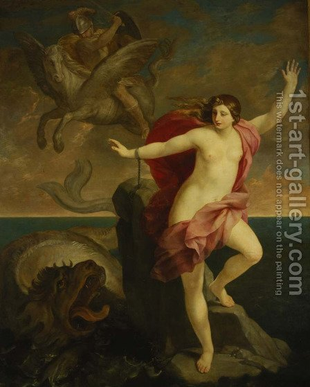 Andromeda by Guido Reni - Reproduction Oil Painting