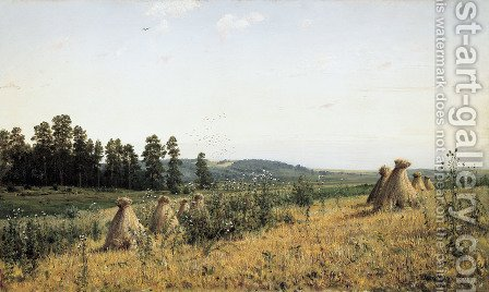 Polesye 2 by Ivan Shishkin - Reproduction Oil Painting