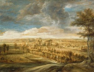 Reproduction oil paintings - Rubens - Landscape with an Avenue of Trees