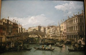 Famous paintings of Nautical: Grand canal, view from north