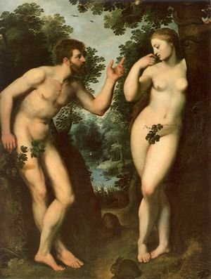 Reproduction oil paintings - Rubens - Adam and Eve 2