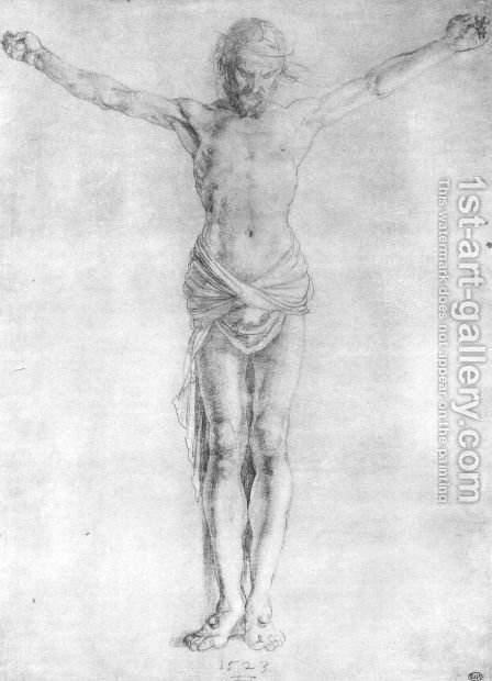Christ on the Cross 2 by Albrecht Durer - Reproduction Oil Painting