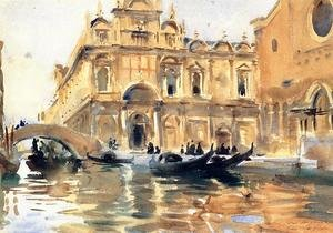 Reproduction oil paintings - Sargent - Rio dei Mendicanti, Venice