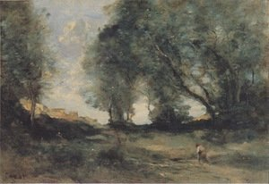 Reproduction oil paintings - Jean-Baptiste-Camille Corot - Landscape 3