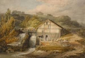 Reproduction oil paintings - Turner - Keyes Mill