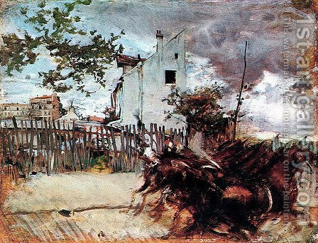 Outskirts of Paris by Giovanni Boldini - Reproduction Oil Painting