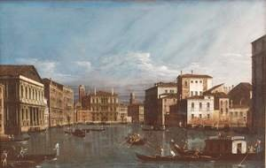 Famous paintings of Nautical: Venice Veduta 2