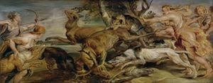 Reproduction oil paintings - Rubens - The Hunt of Diana, 1628