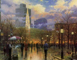 Realism painting reproductions: Boston