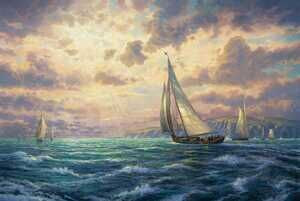 Realism painting reproductions: New Horizons