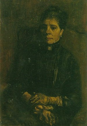 Reproduction oil paintings - Vincent Van Gogh - Portrait of a Woman Seated