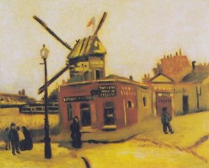 Reproduction oil paintings - Vincent Van Gogh - Le Moulin de la Galette