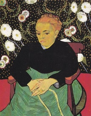 Reproduction oil paintings - Vincent Van Gogh - La Berceuse (Augustine Roulin) V