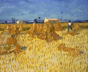 Reproduction oil paintings - Vincent Van Gogh - Harvest in Provence