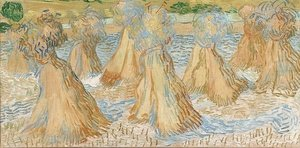 Reproduction oil paintings - Vincent Van Gogh - Sheaves of Wheat