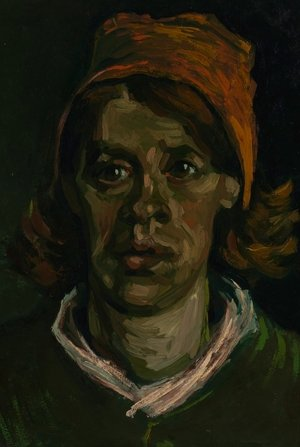 Reproduction oil paintings - Vincent Van Gogh - Head of a Woman