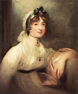 Reproduction oil paintings - Sir Thomas Lawrence - Diana Sturt, Lady Milner 1815-20