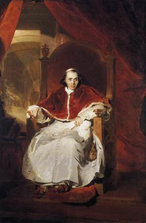Reproduction oil paintings - Sir Thomas Lawrence - Pope Pius VII  1819