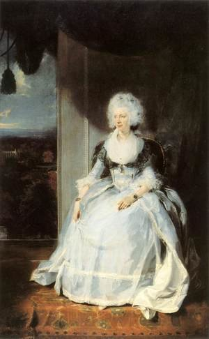 Reproduction oil paintings - Sir Thomas Lawrence - Queen Charlotte 1789-90