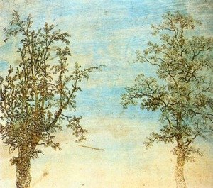 Hercules Seghers reproductions - Two Trees c. 1625